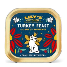 Lily's Kitchen Christmas Turkey & Ham Feast Food for Cats (85g)