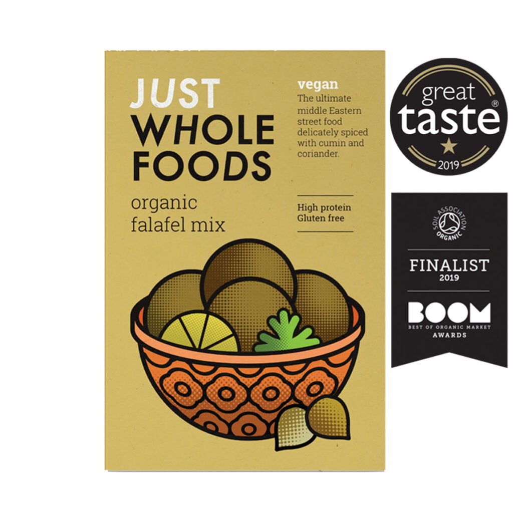 Buy Just Wholefoods Organic Falafel Mix (125g) | Grocery ...