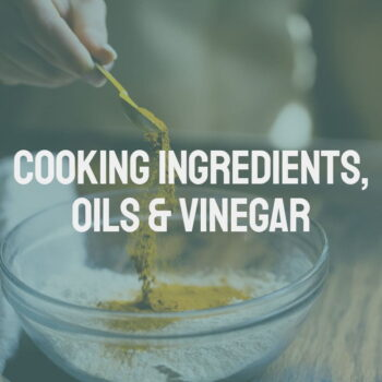 Cooking Ingredients, Oils & Vinegar