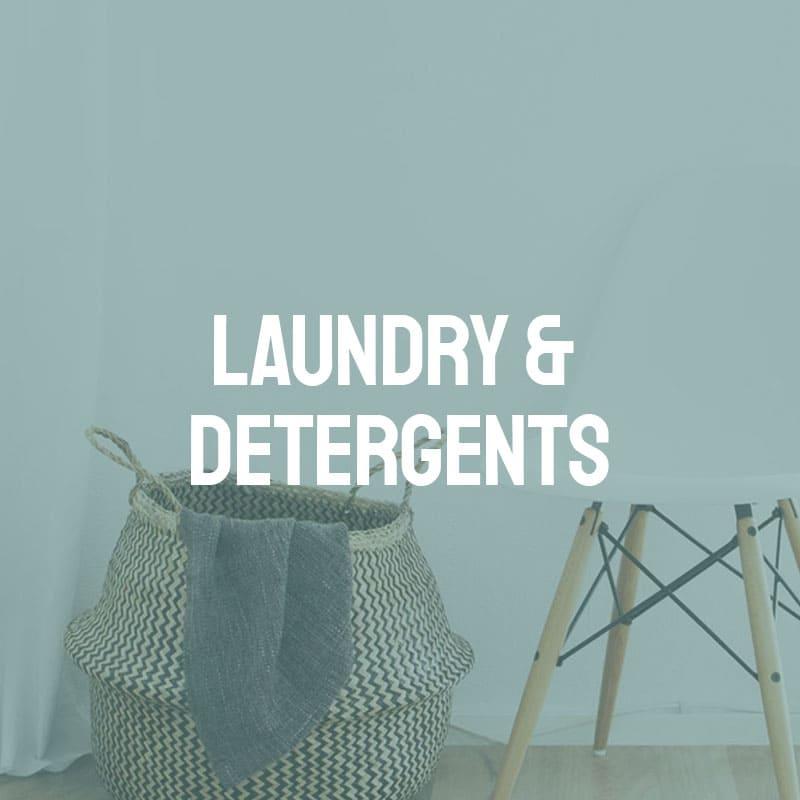 Laundry & Detergents