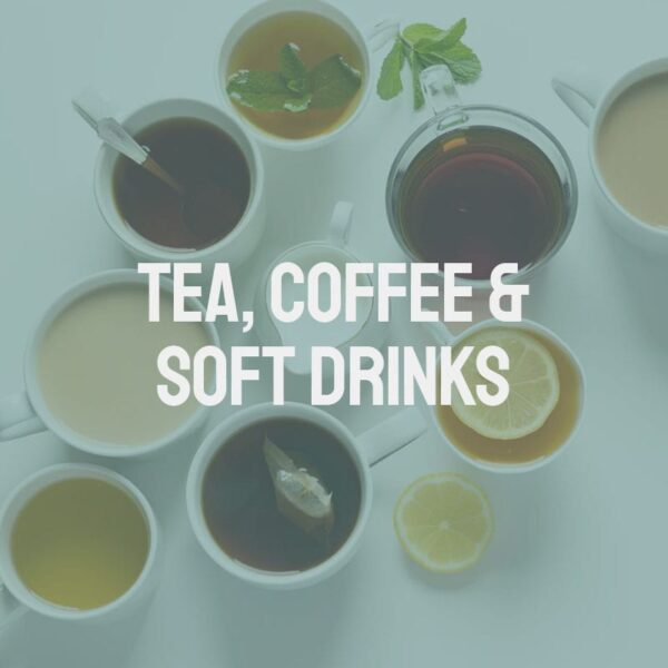 Tea, Coffee & Soft Drinks
