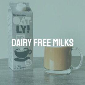 Dairy Free Milks & Creams