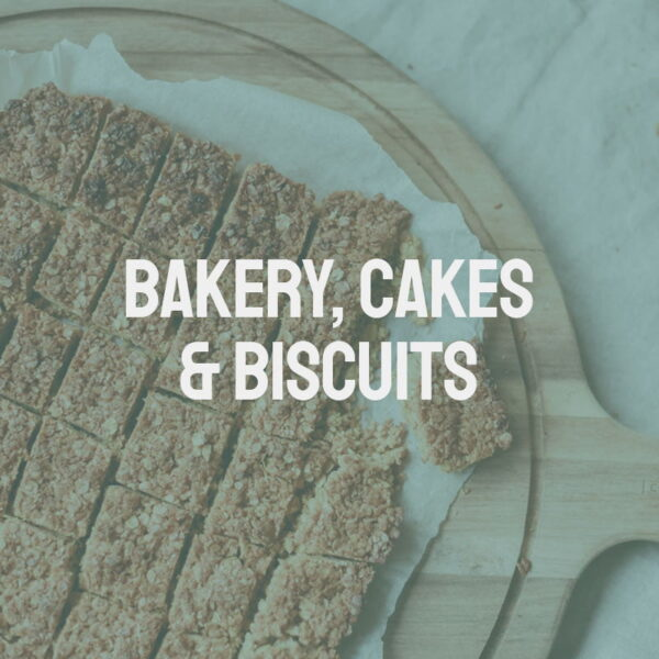 Bakery, Cakes & Biscuits