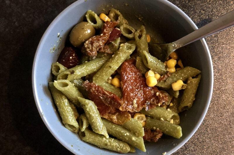 5 Ingredient Pesto Pasta