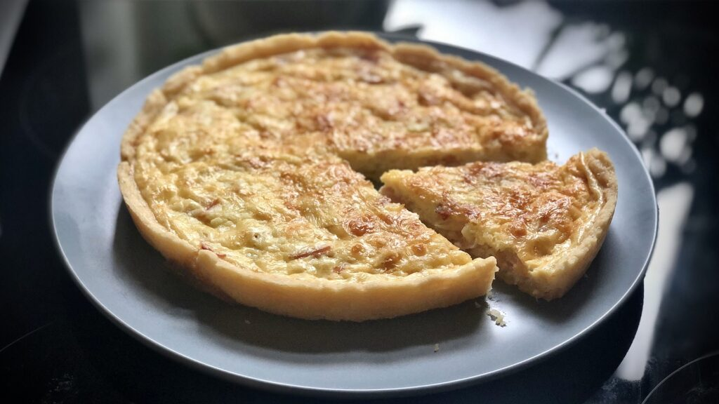 Classic Quiche with Simple Homemade Pastry