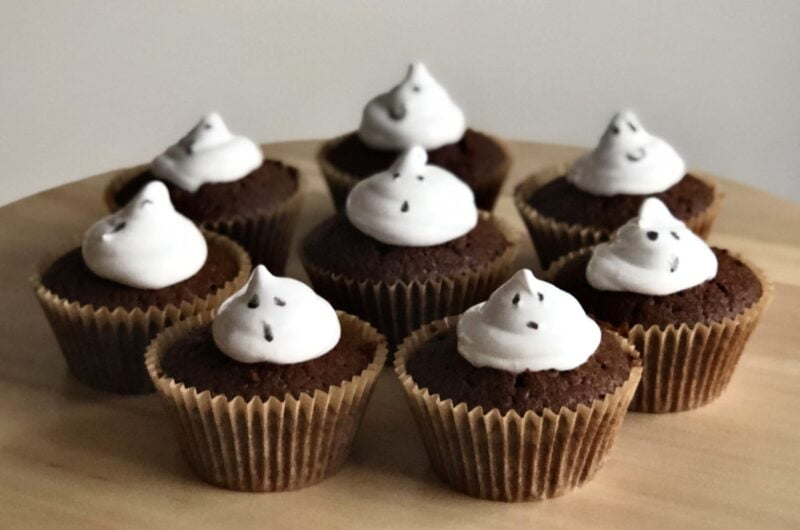 Scarily Delicious Ghost Cupcakes