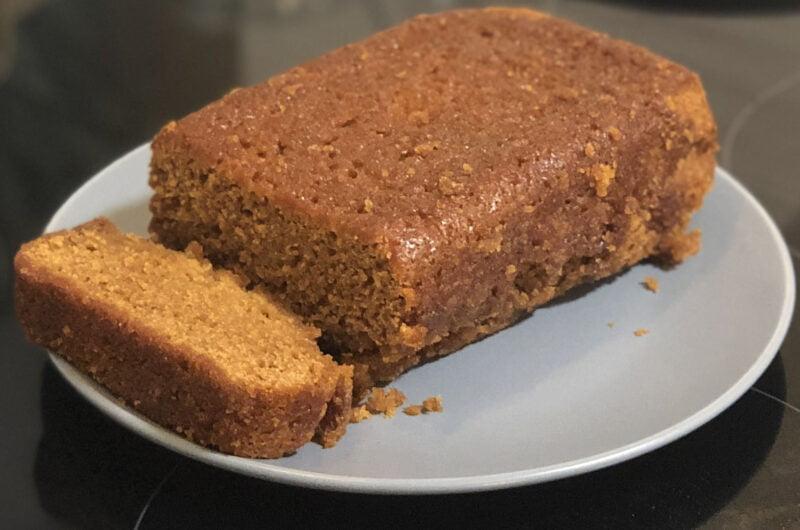 Golden Gingerbread Loaf Cake