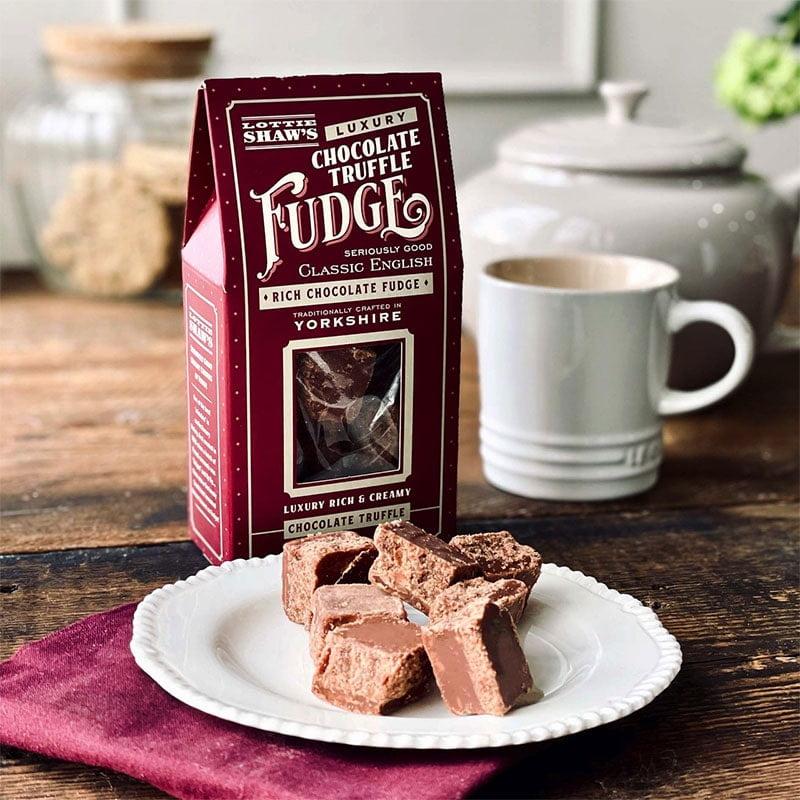 Lottie Shaw's Chocolate Truffle Fudge