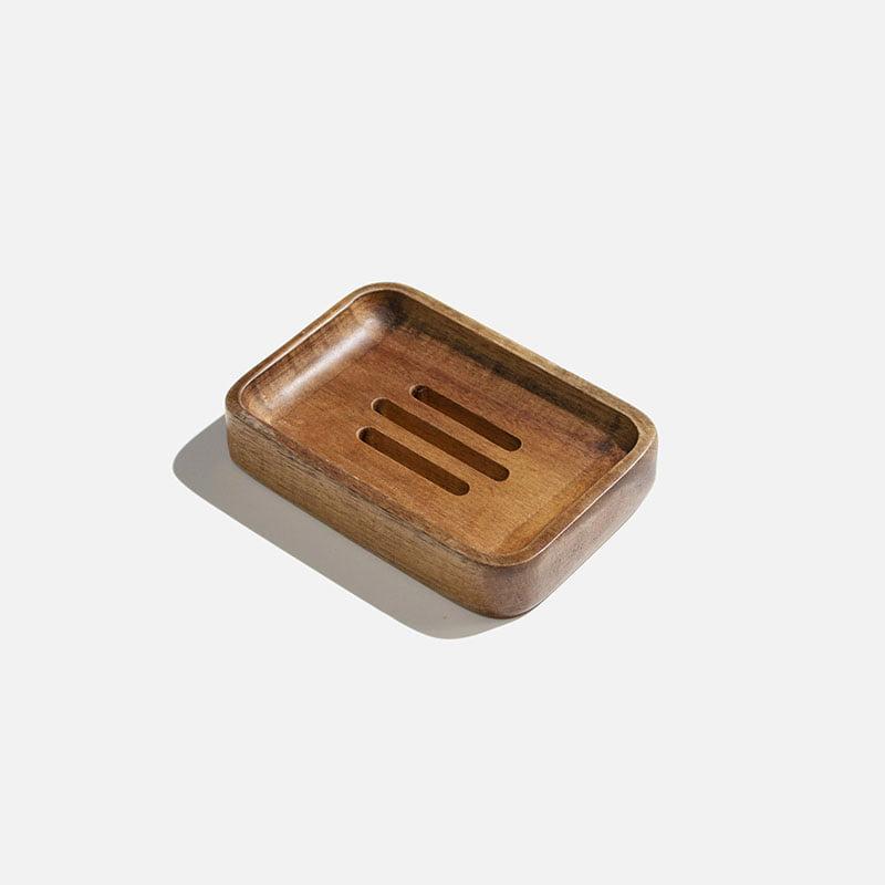 Acacia Wood Soap Dish By Zero Waste Club