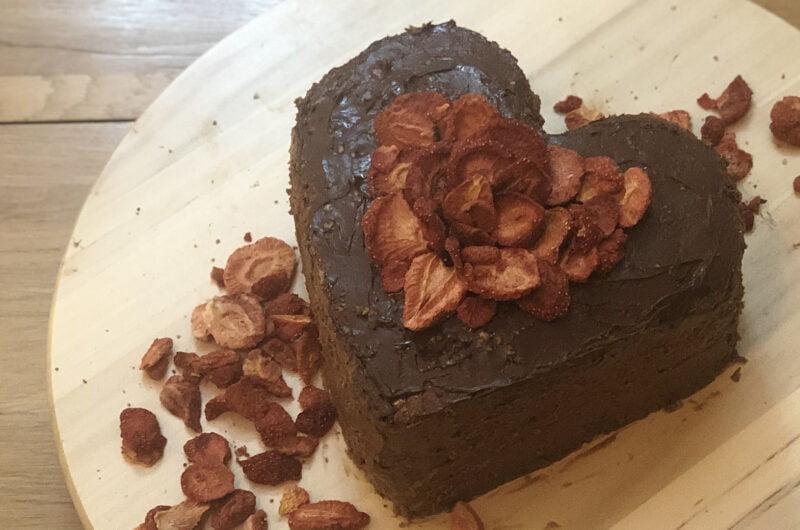 St Valentine's Chocolate Fudge Cake