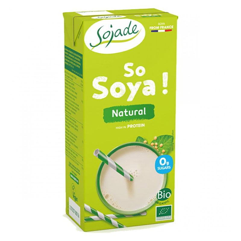 Sojade Organic Unsweetened Soya Milk Drink (1ltr)