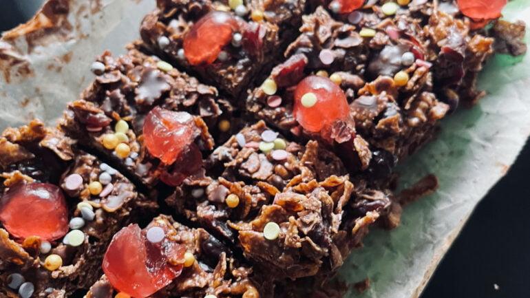 Ultimate Vegan Chocolate Fridge Cake