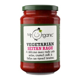 Mr Organic Vegetarian Seitan Ragu (350g)