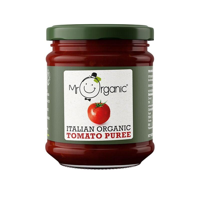 Mr Organic Tomato Puree Concentrate Jar (200g)