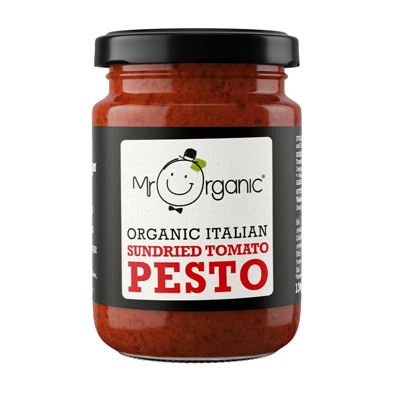 Mr Organic Sundried Tomato Pesto (130g)