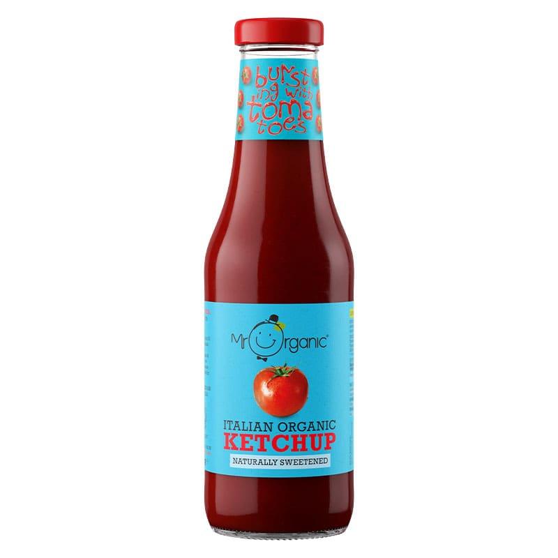 Mr Organic Naturally Sweetened Tomato Ketchup (480g)