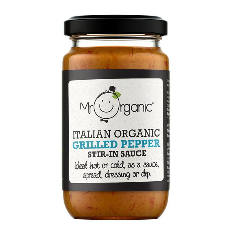 Mr Organic Grilled Peppers Add In Sauce (190g)
