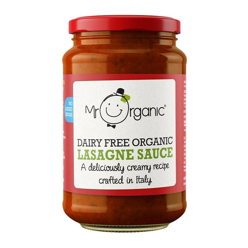 Mr Organic Dairy Free Creamy Lasagne Sauce (350ml)