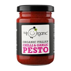 Mr Organic Chilli Garlic Pesto (130g)