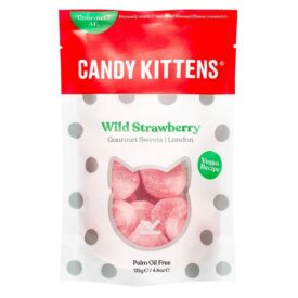 Candy Kittens Wild Strawberry Sweets (125g)