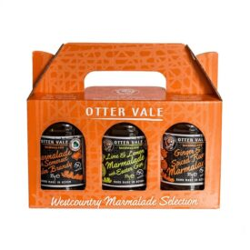 Otter Vale Westcountry Marmalade Selection Gift Pack - Handmade in Devon (3 x 300g)