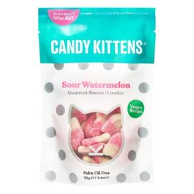 Candy Kittens Sour Watermelon Sweets (125g)