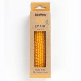 ZaraMama Gourmet Popping Corn - Golden Butter Pop-a-Cob (90g)