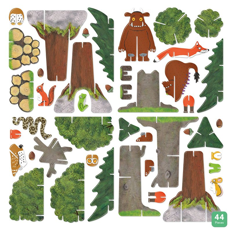 Playpress The Gruffalo Pop-Out Eco-Friendly Playset (4+) 9