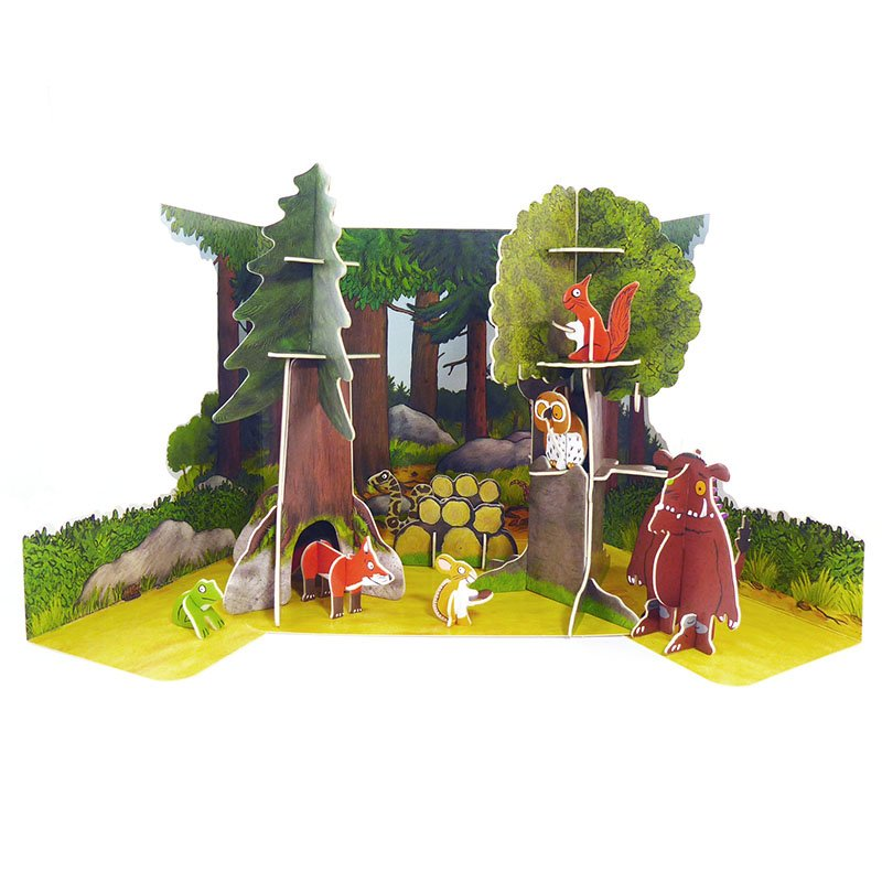 Playpress The Gruffalo Pop-Out Eco-Friendly Playset (4+) 4