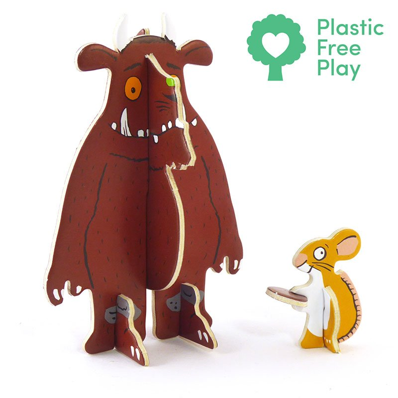 Playpress The Gruffalo Pop-Out Eco-Friendly Playset (4+) 3