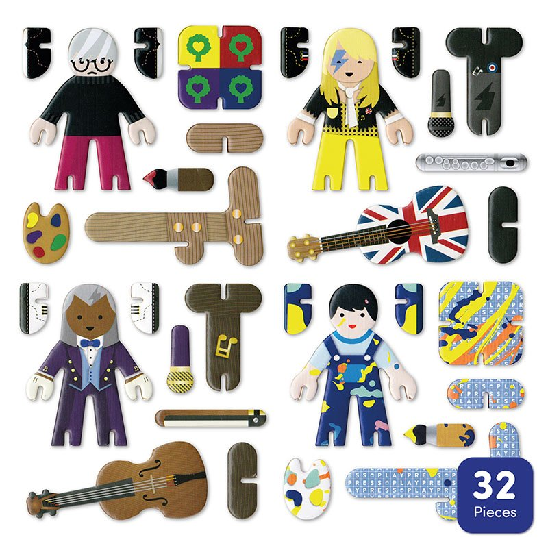 Playpress Talent Show Pop-Out Eco-Friendly Playset (4+) 6