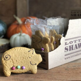 Lottie Shaw's Gingerbread Parkin Pig Biscuit (1 Pack)