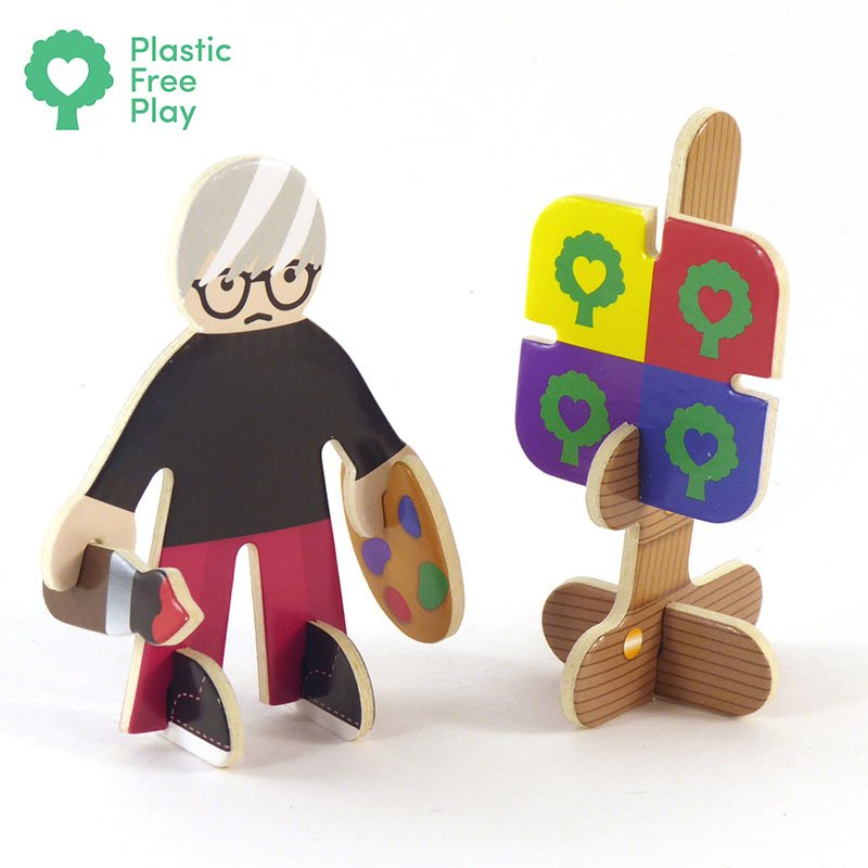 Playpress Talent Show Pop-Out Eco-Friendly Playset (4+) 4