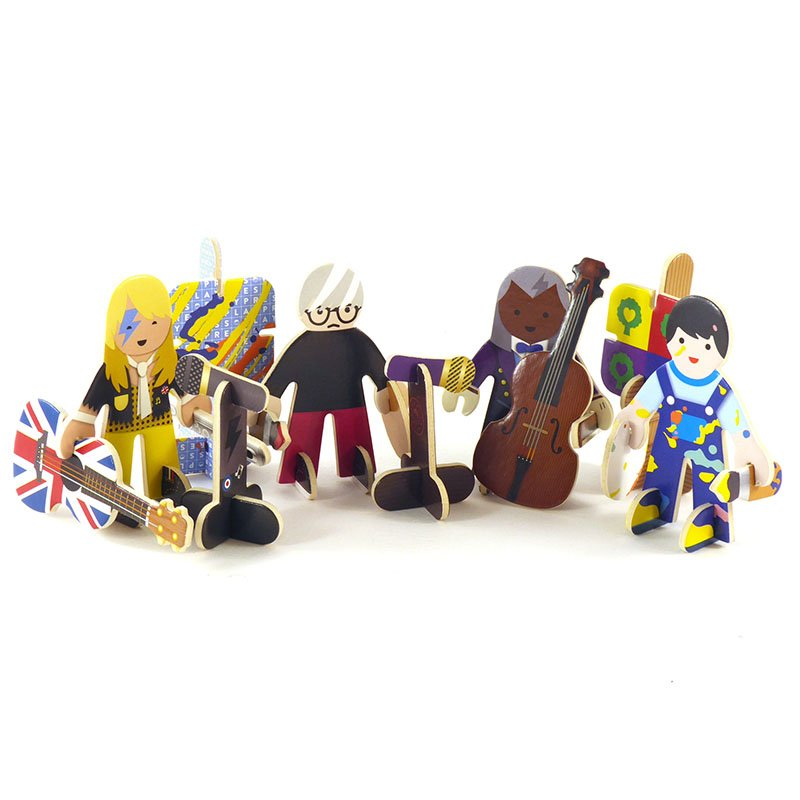 Playpress Talent Show Pop-Out Eco-Friendly Playset (4+) 3