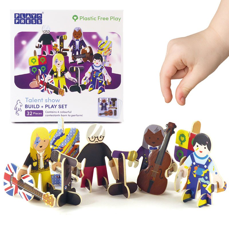 Playpress Talent Show Pop-Out Eco-Friendly Playset (4+) 2