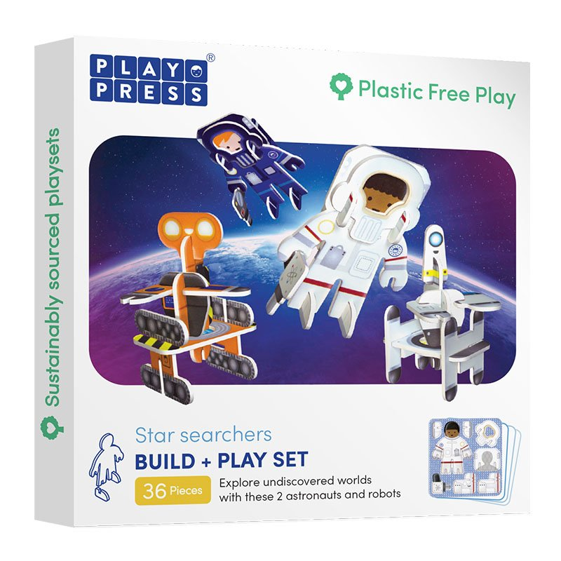 Playpress Star Searchers Pop-Out Eco-Friendly Playset (4+)