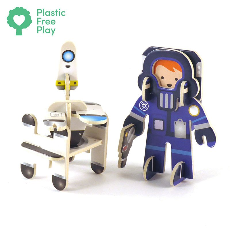 Playpress Star Searchers Pop-Out Eco-Friendly Playset (4+) 4