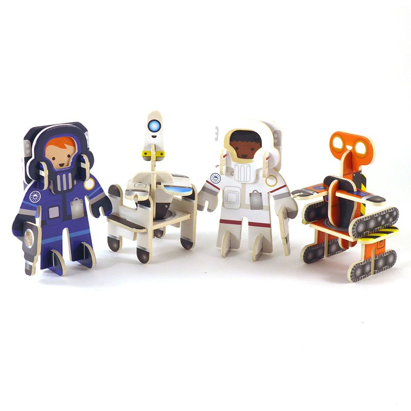 Playpress Star Searchers Pop-Out Eco-Friendly Playset (4+) 3