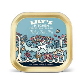 Lily's Kitchen Fishy Fish Pie (Grain Free) Food For Dogs (150g Tray)