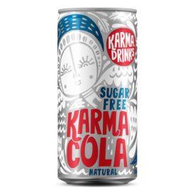 Karma Sugar Free Natural Cola Drink Can (250ml)