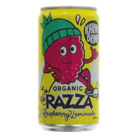 Karma Organic Fairtrade Razza Raspberry Lemonade Drink Can (250ml)