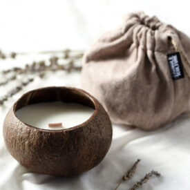 Jungle Culture Coconut Shell Soy Wax Candle