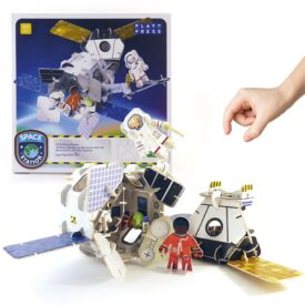 Playpress Space Station Pop-Out Eco-Friendly Playset (4+) 2