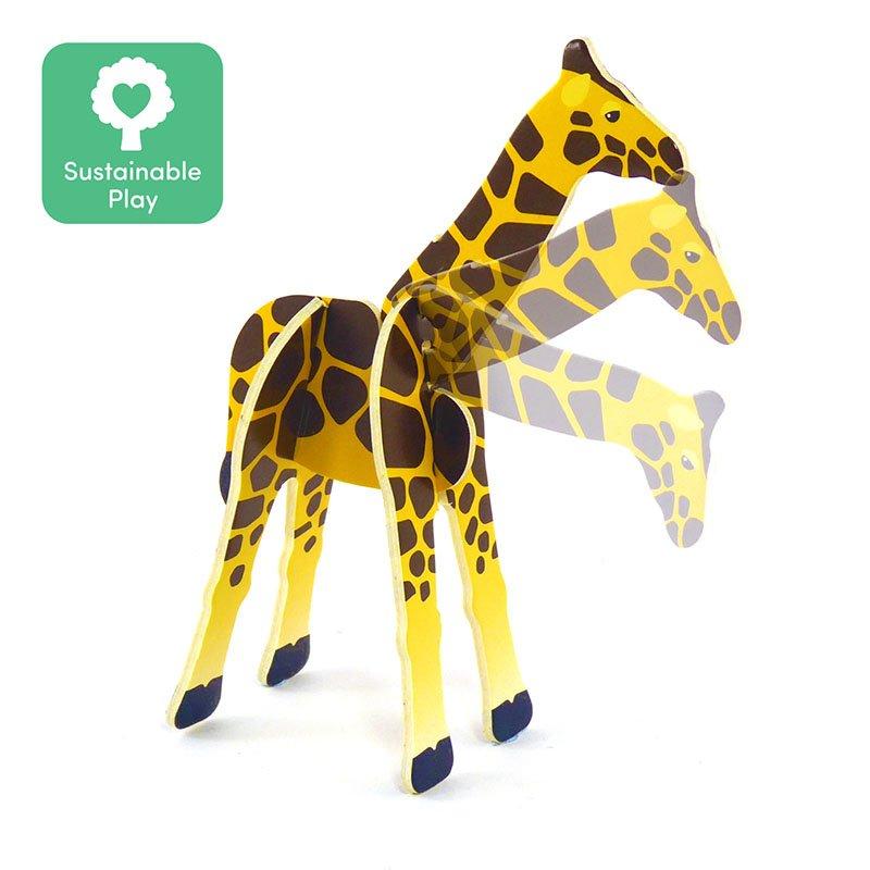 Playpress Savannah Animals Pop-Out Eco-Friendly Playset (4+) 4