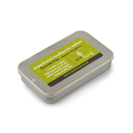 Eco Living Fluoride-Free Toothpaste Tablets - Peppermint (1 Month Supply)