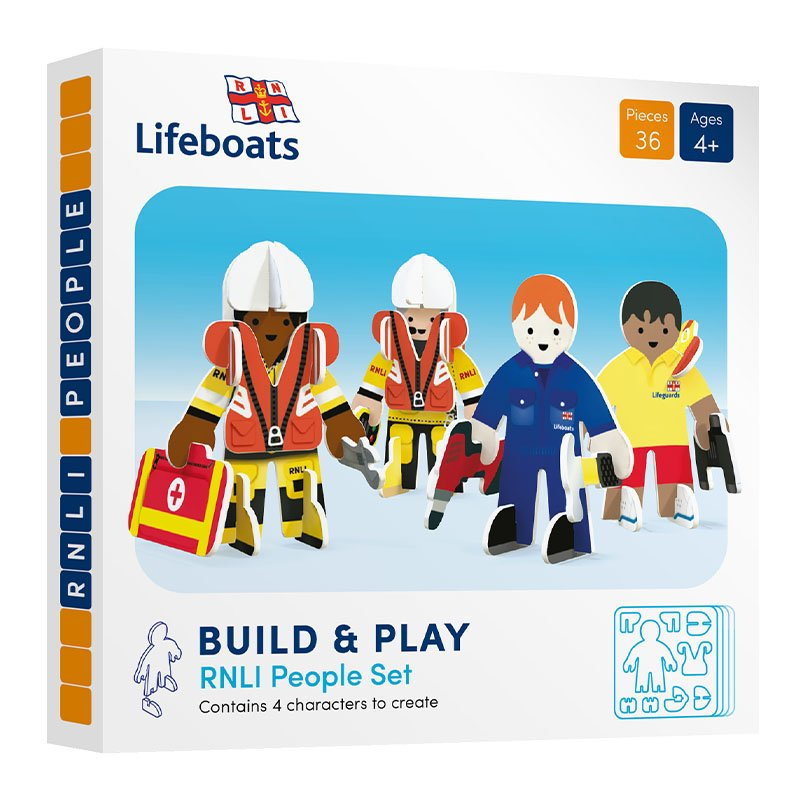 Playpress RNLI People Pop-Out Eco-Friendly Playset (4+)