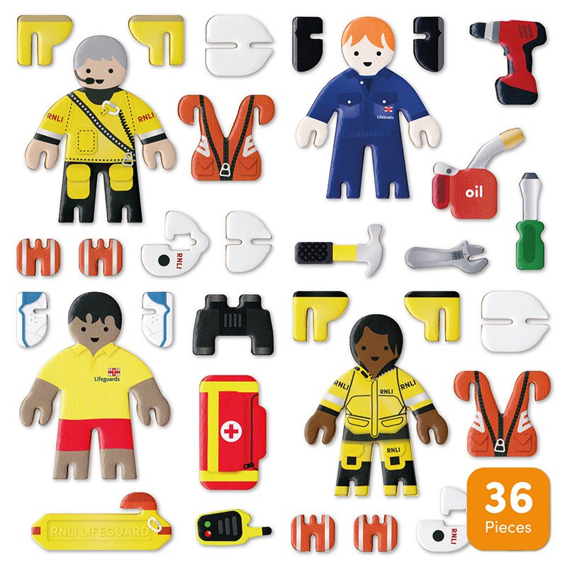 Playpress RNLI People Pop-Out Eco-Friendly Playset (4+) 4