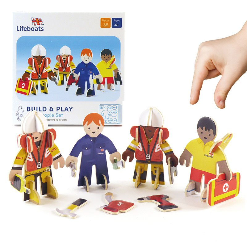 Playpress RNLI People Pop-Out Eco-Friendly Playset (4+) 3