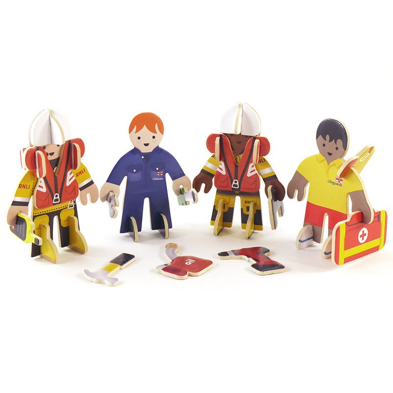 Playpress RNLI People Pop-Out Eco-Friendly Playset (4+) 2