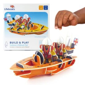 Playpress RNLI Lifeboat Pop-Out Eco-Friendly Playset (4+) 2